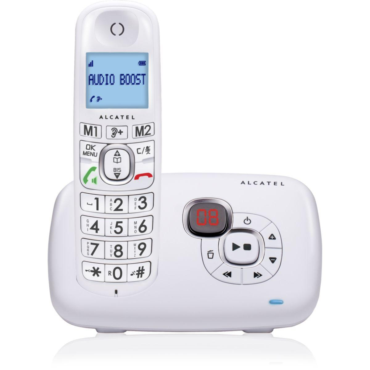 Scanner alcatel xl 385 voice blanc - 15% de remise immédiate avec le code : cool15 (photo)
