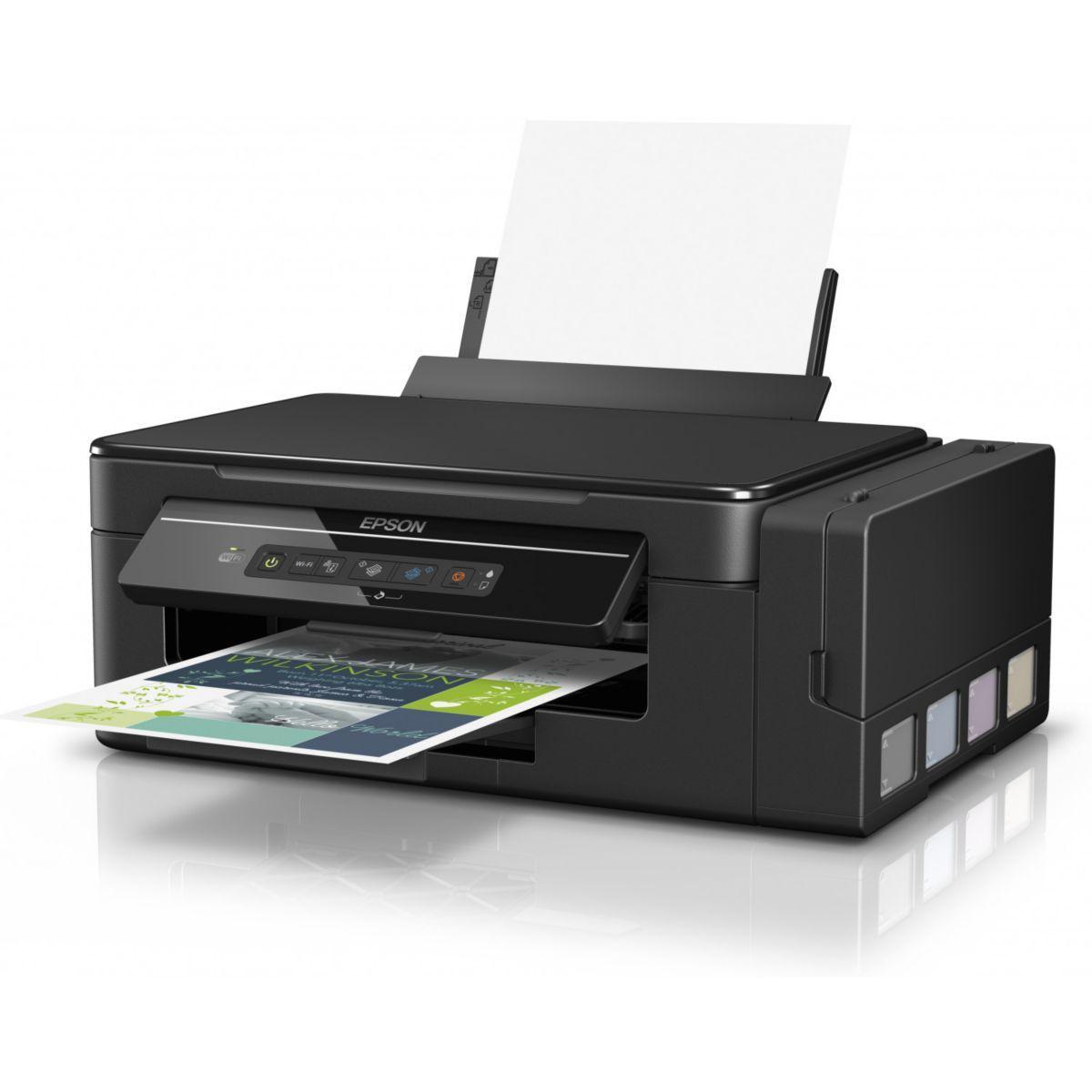 Imprimante jet d'encre epson ecotank et-2600 - livraison offerte : code liv (photo)