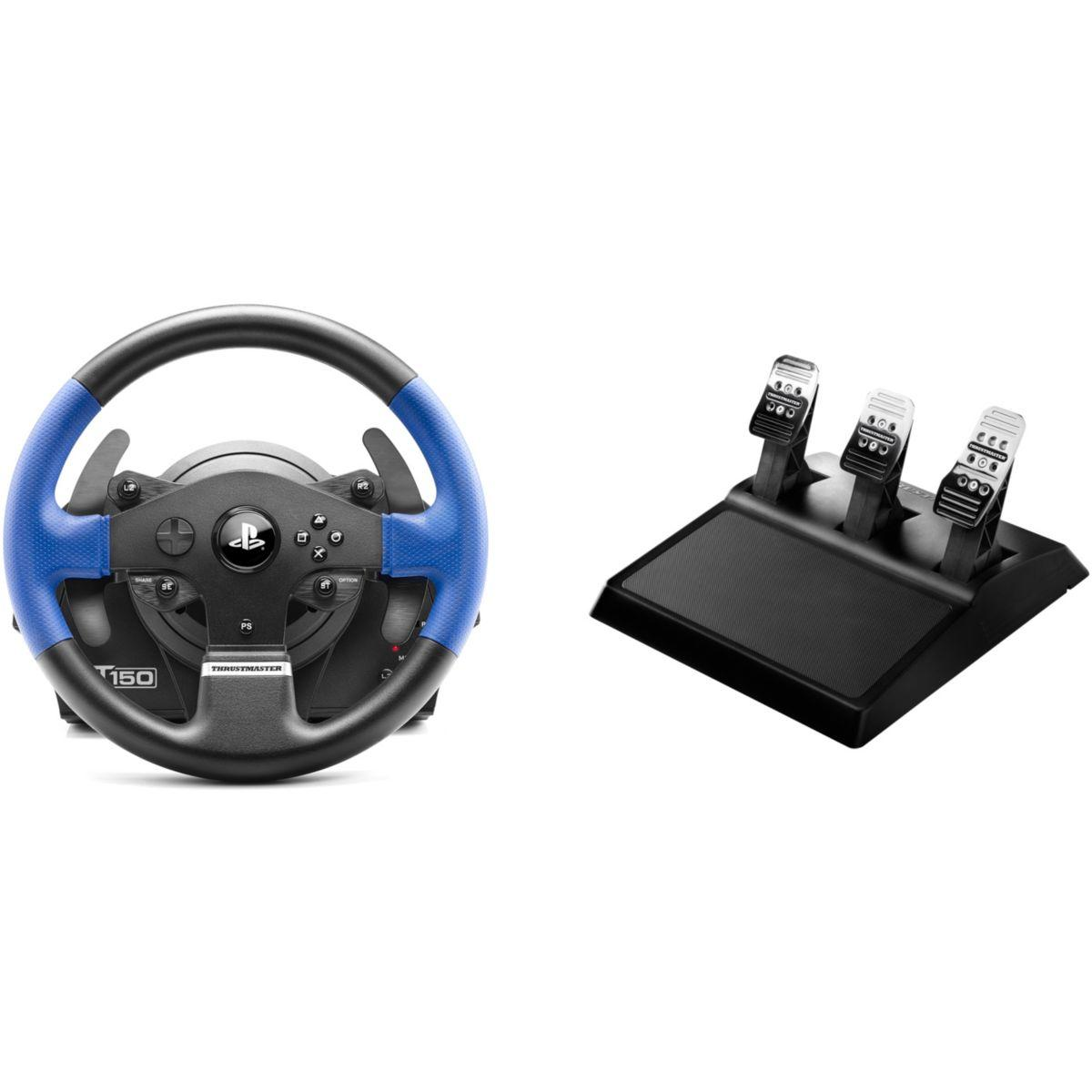Volant + p�dalier thrustmaster t150 rs pro
