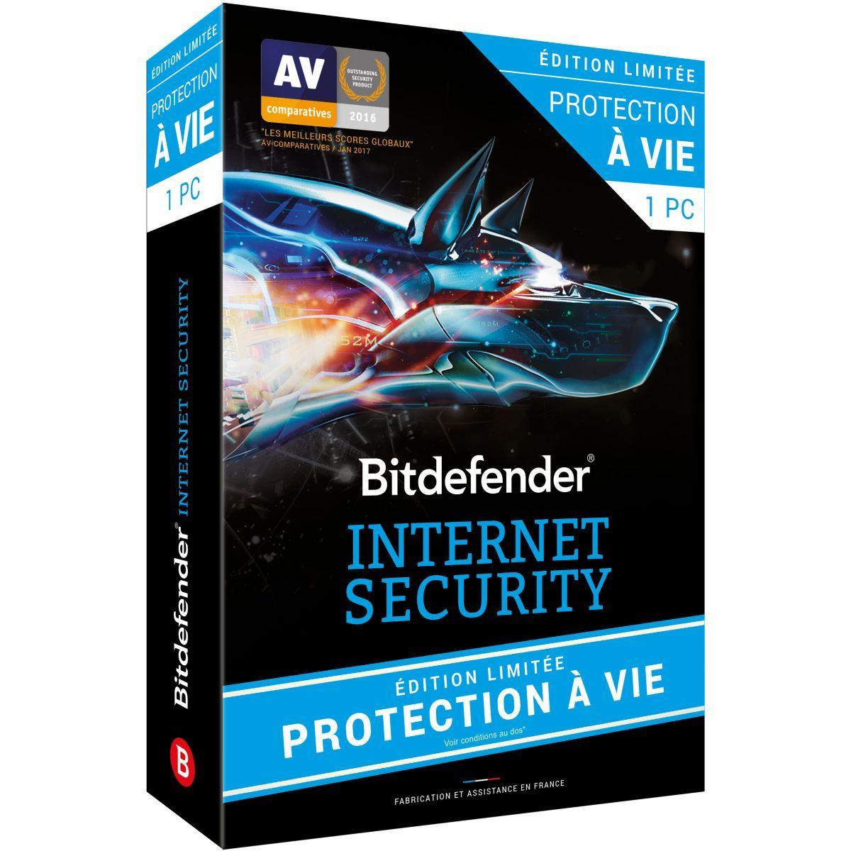 Logiciel pc bitdefender internet security lic - livraison offerte avec le code nouveaute (photo)