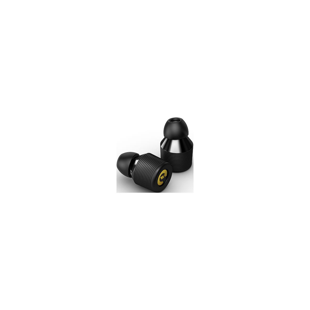 Ecouteurs intra earin bluetooth earbuds m-1 alu - livraison of...