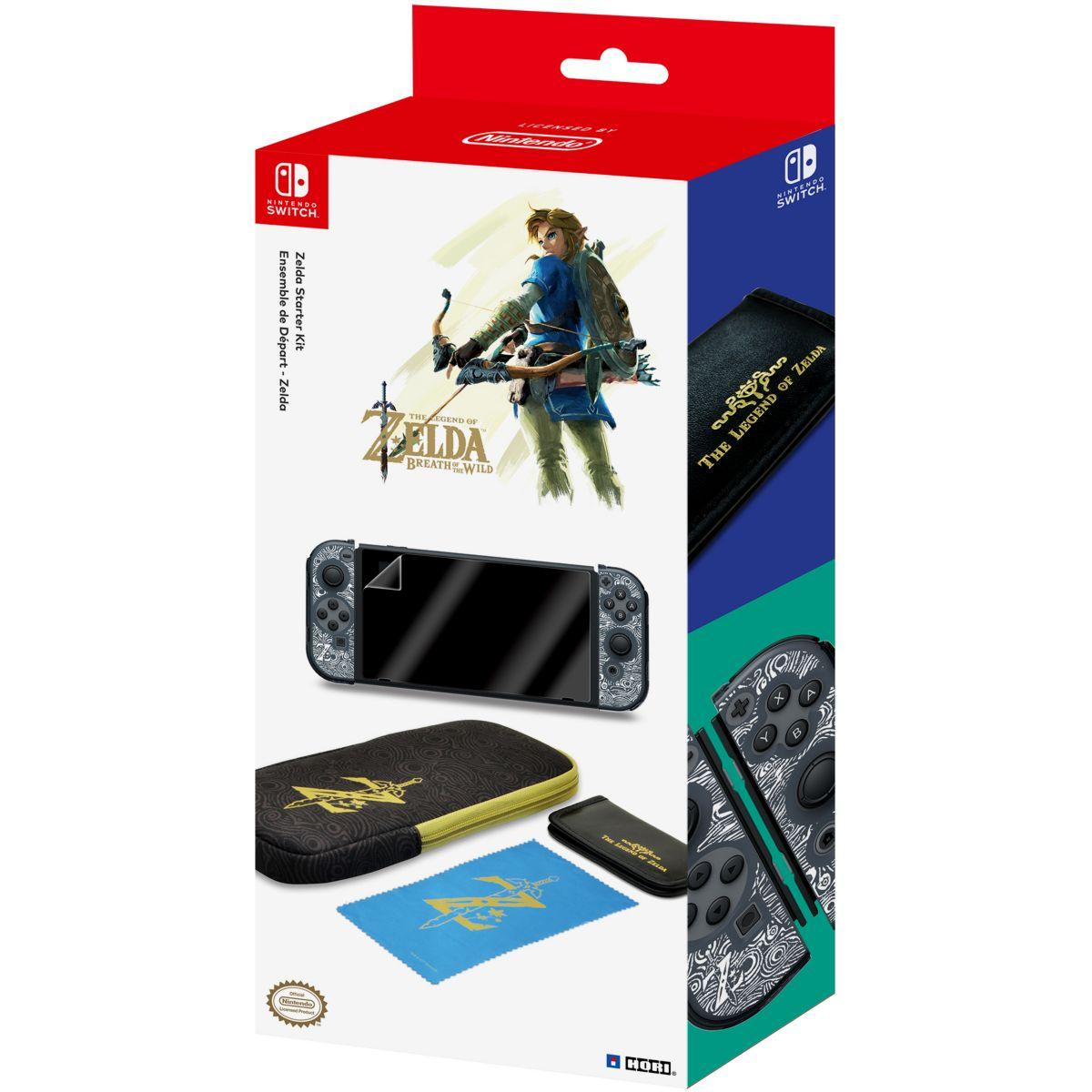 Acc. hori kit de transport zelda switch - 10% de remise immédiate avec le code : multi10 (photo)