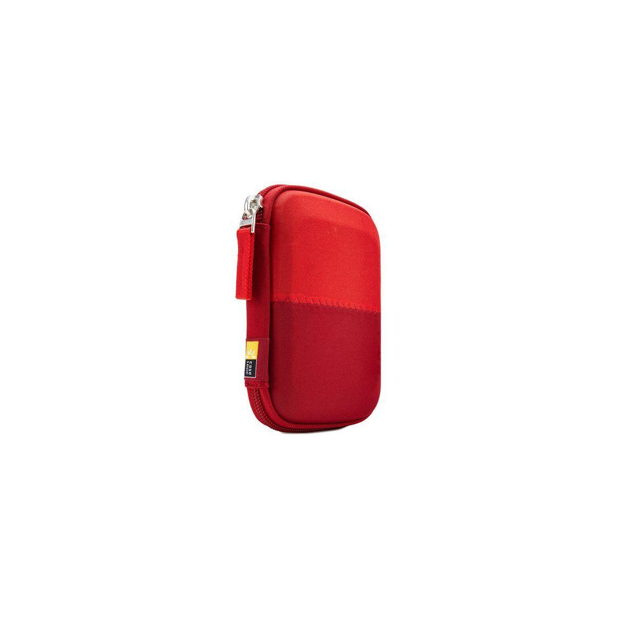 Housse caselogic disque dur 2,5'' rouge (photo)