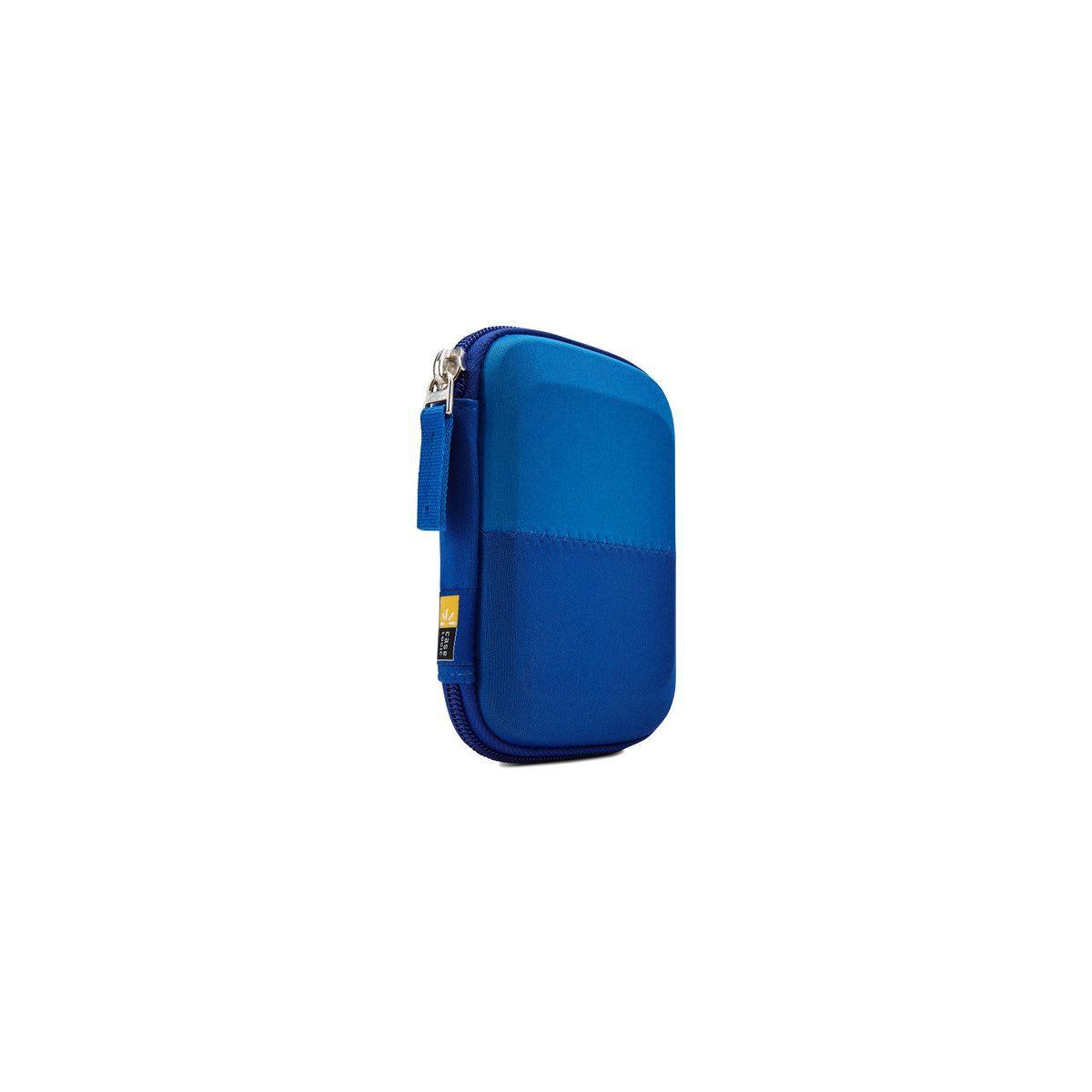 Housse caselogic disque dur 2,5'' bleu (photo)