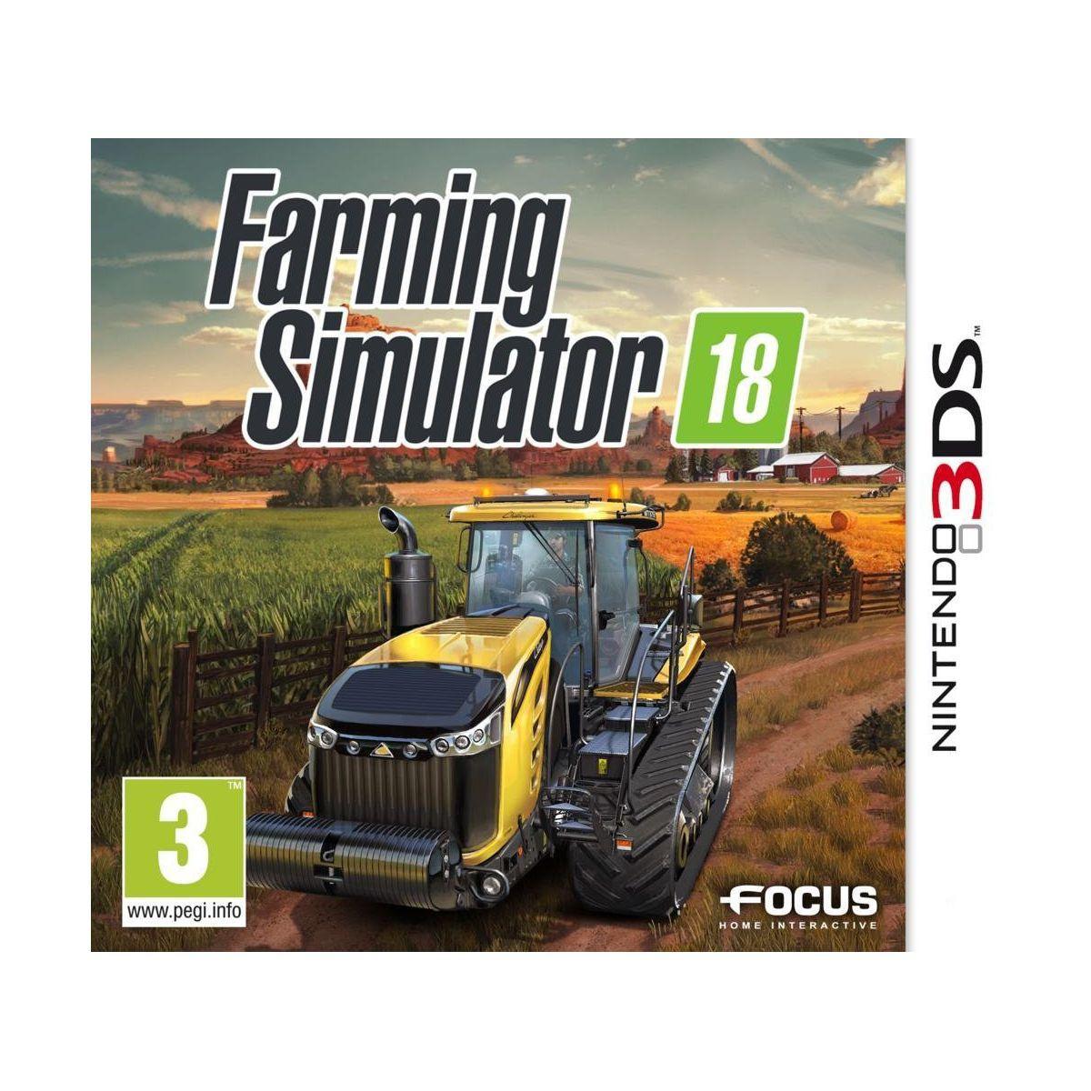 Jeu 3ds focus farming simulator 18 (photo)