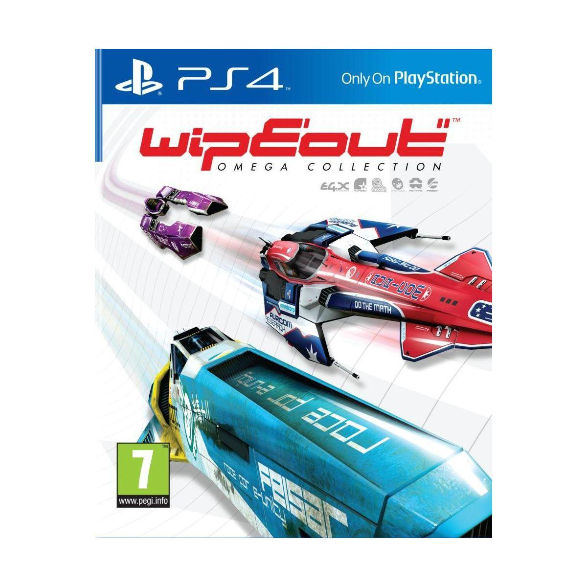 Jeu ps4 sony wipeout omega collection