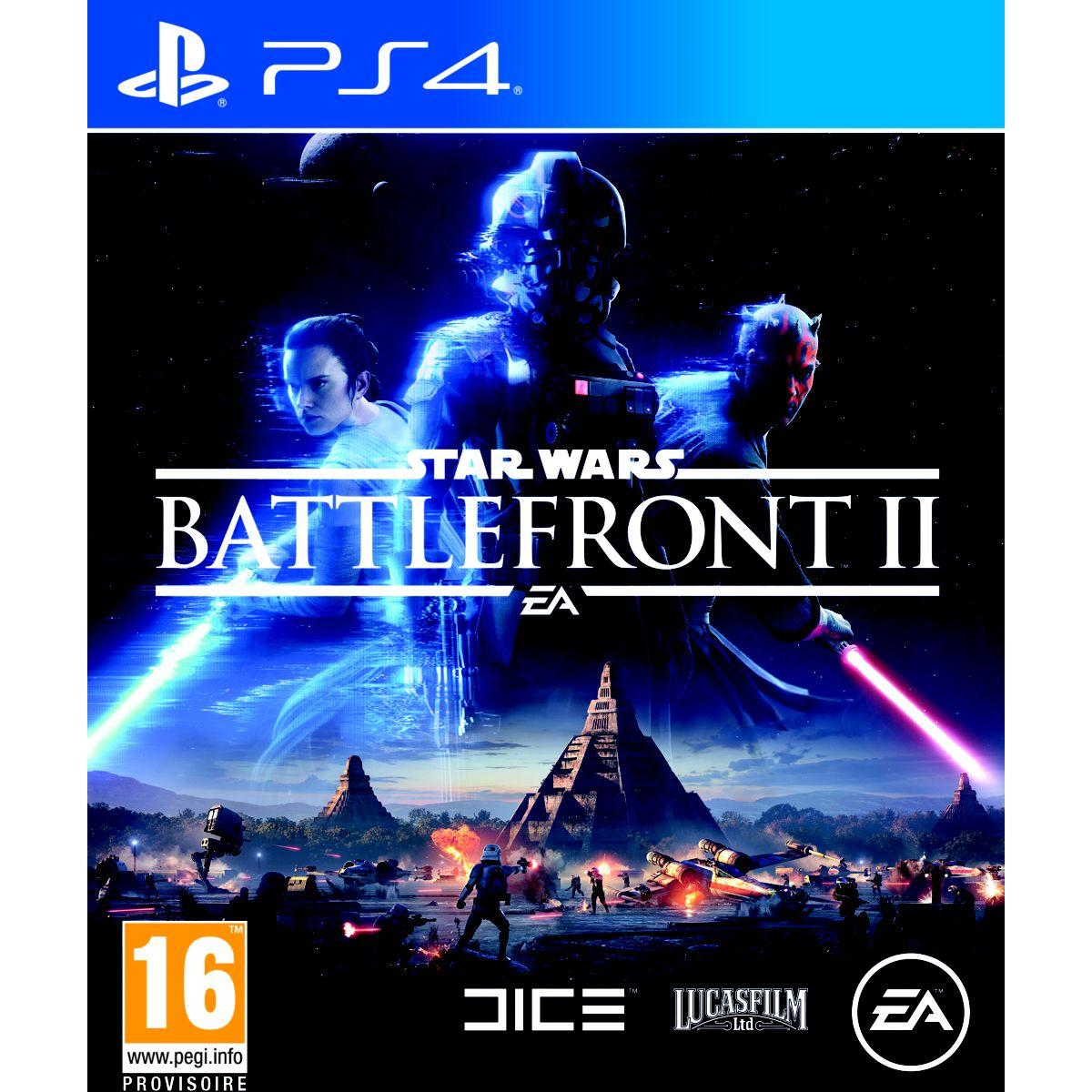 Jeu ps4 electronic arts star wars battlefront ii (photo)