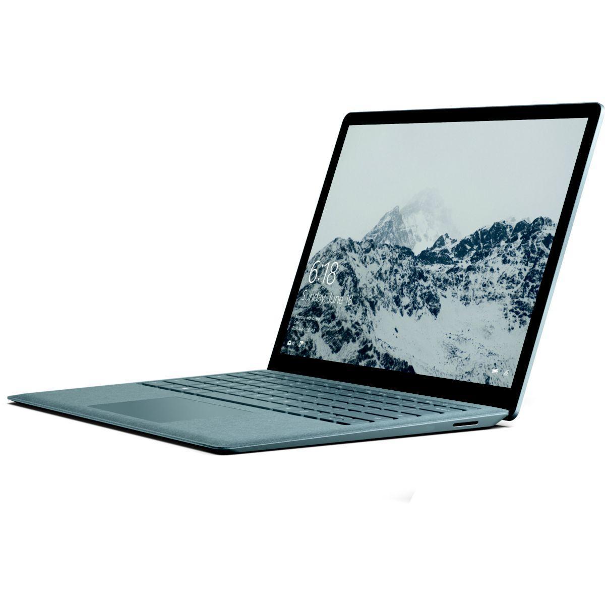 Ultra portable microsoft surface laptop i5 256go silver - livraison offerte : code chronoff