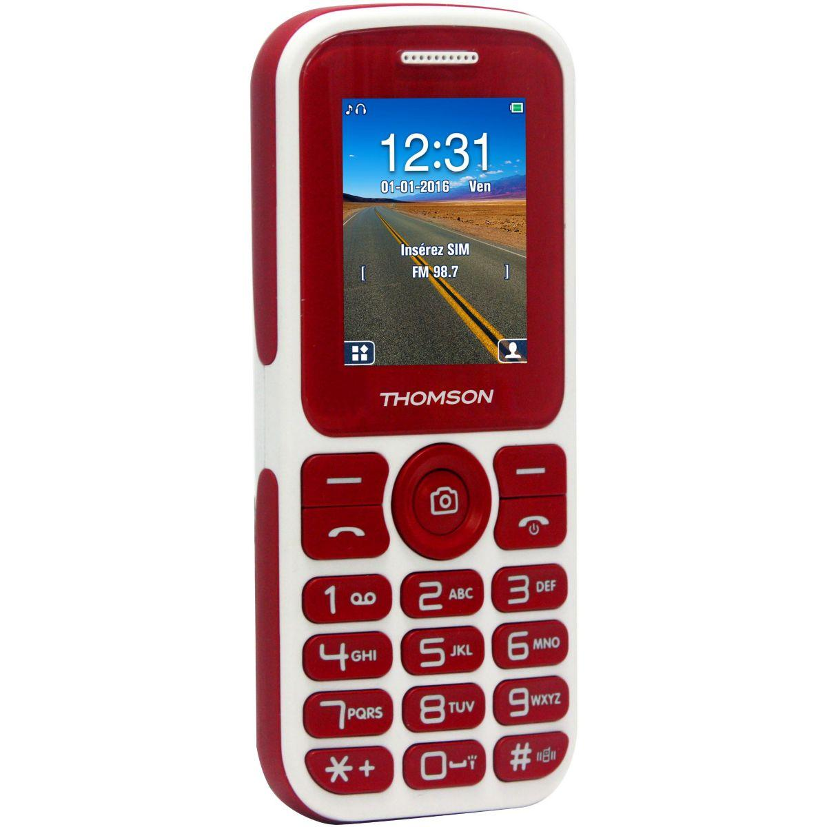 Mobile thomson tlink 18 rouge