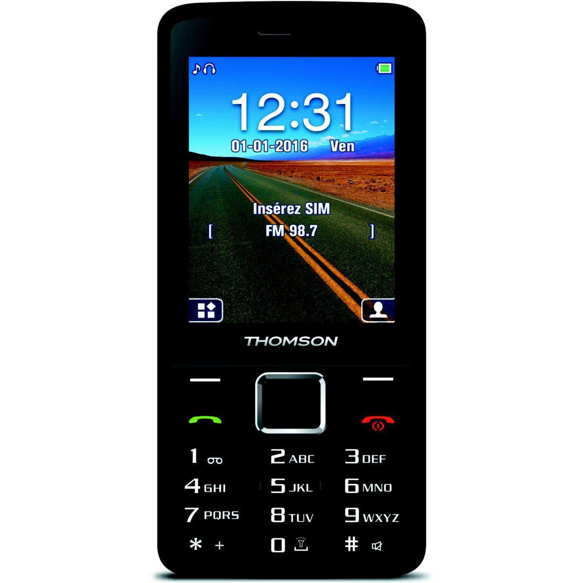 Mobile thomson tlink 28+ noir - 10% de remise immédiate avec le code : multi10