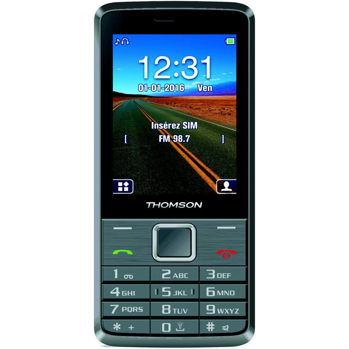 Mobile thomson tlink 28+ silver - 10% de remise immédiate avec le code : multi10