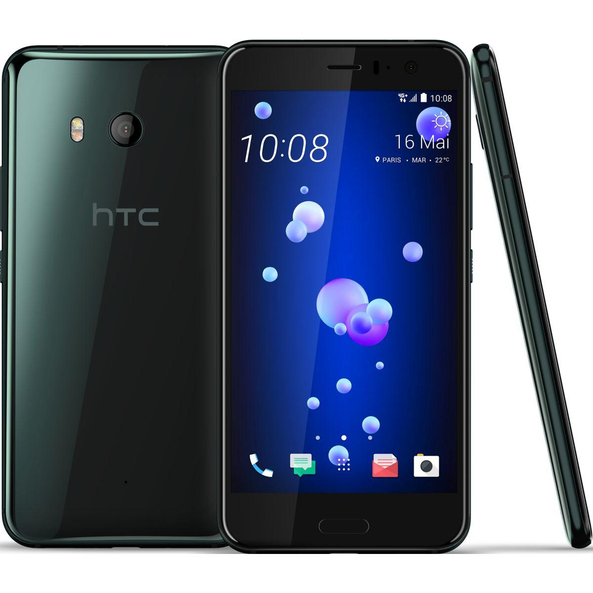 Smartphone htc u11 noir 64 go - 3% de remise immédiate avec le code : multi3