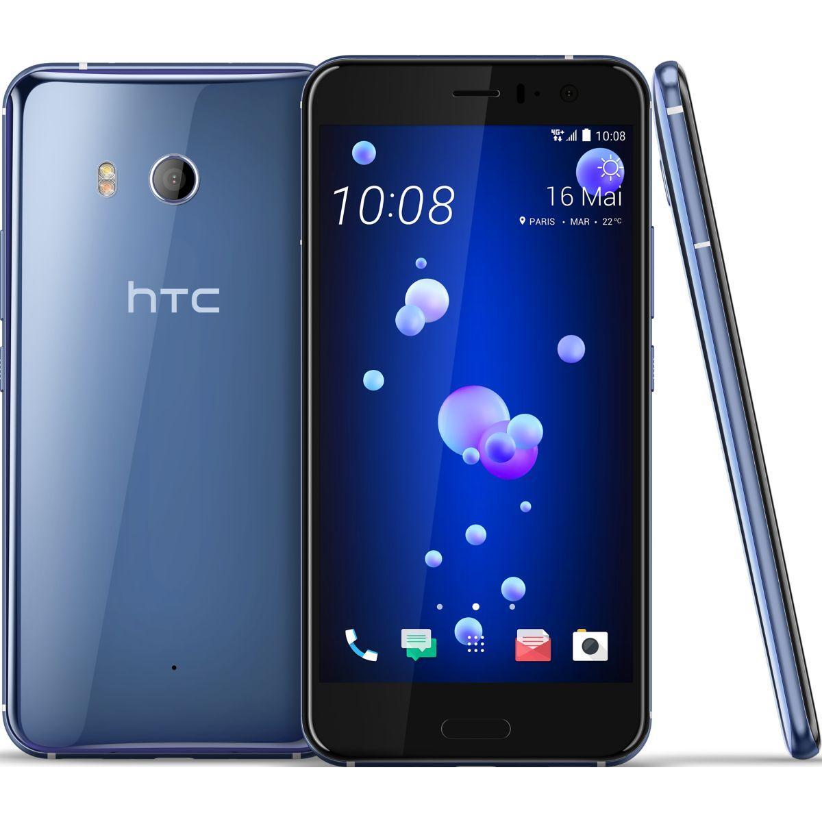 Smartphone htc u11 chrome 64 go - 3% de remise immédiate avec le code : multi3