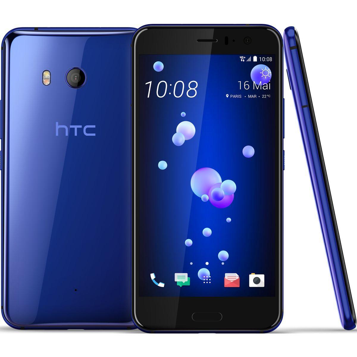 Smartphone htc u11 bleu 64 go