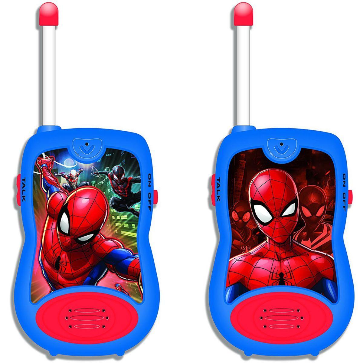 Talkie walkie lexibook tw12 spider-man - 2% de remise imm�diate avec le code : cadeau2 (photo)
