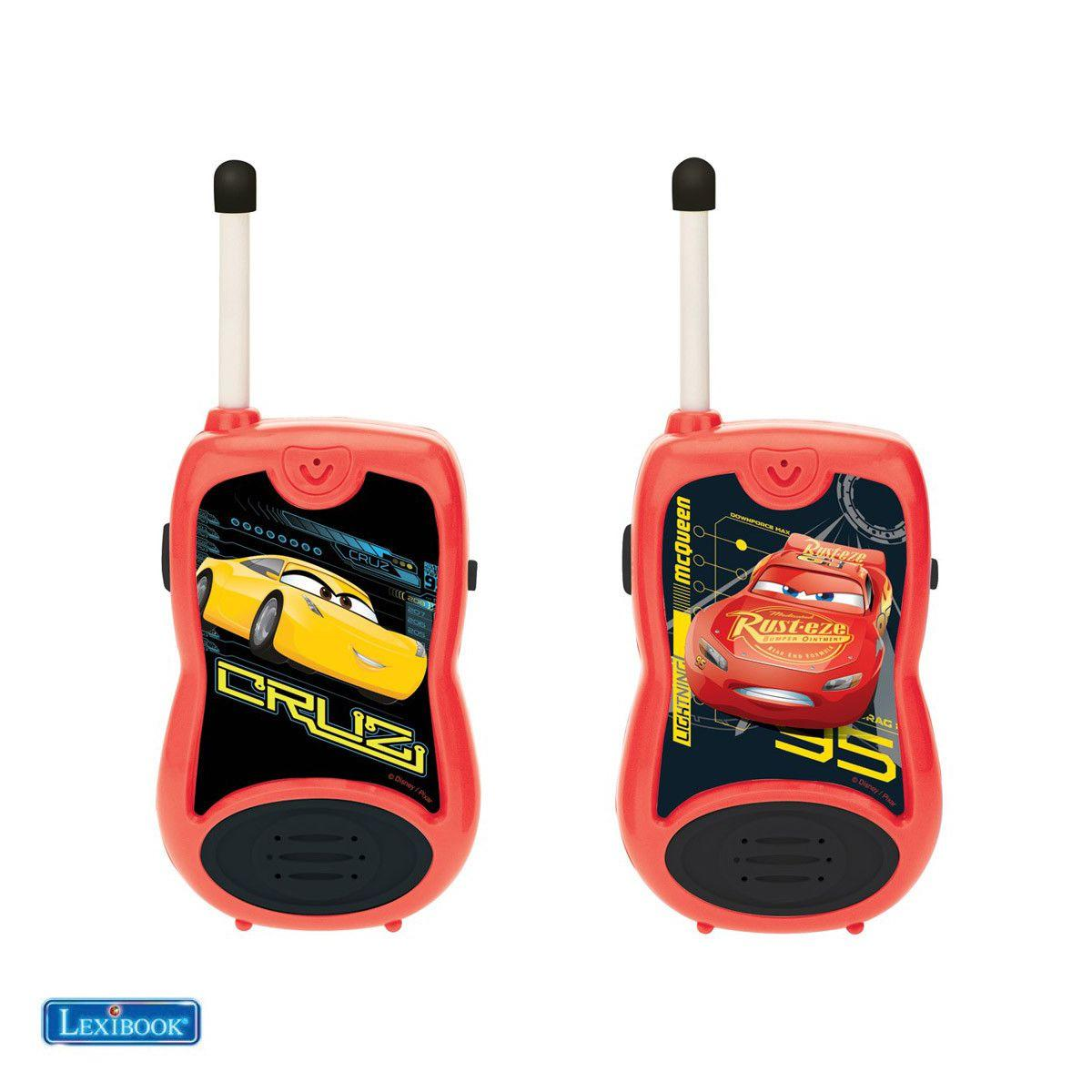 Talkie walkie lexibook tw12 disney cars - 2% de remise imm�diate avec le code : cadeau2 (photo)