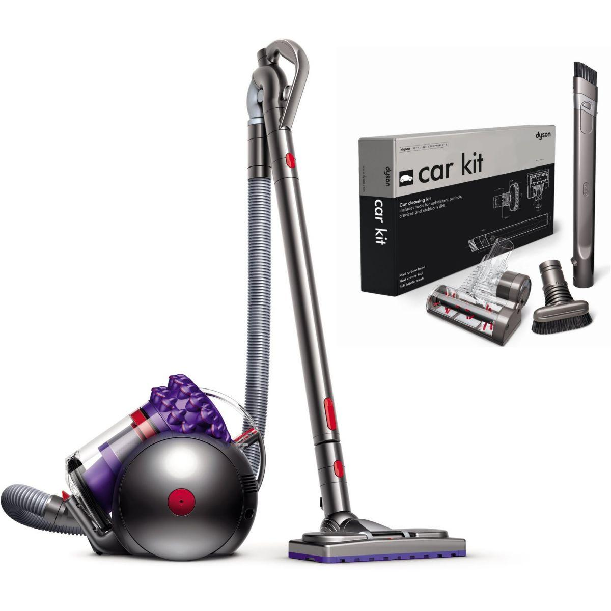 Aspi dyson cinetic big ball parquet + ki - 10% de remise : code pam10