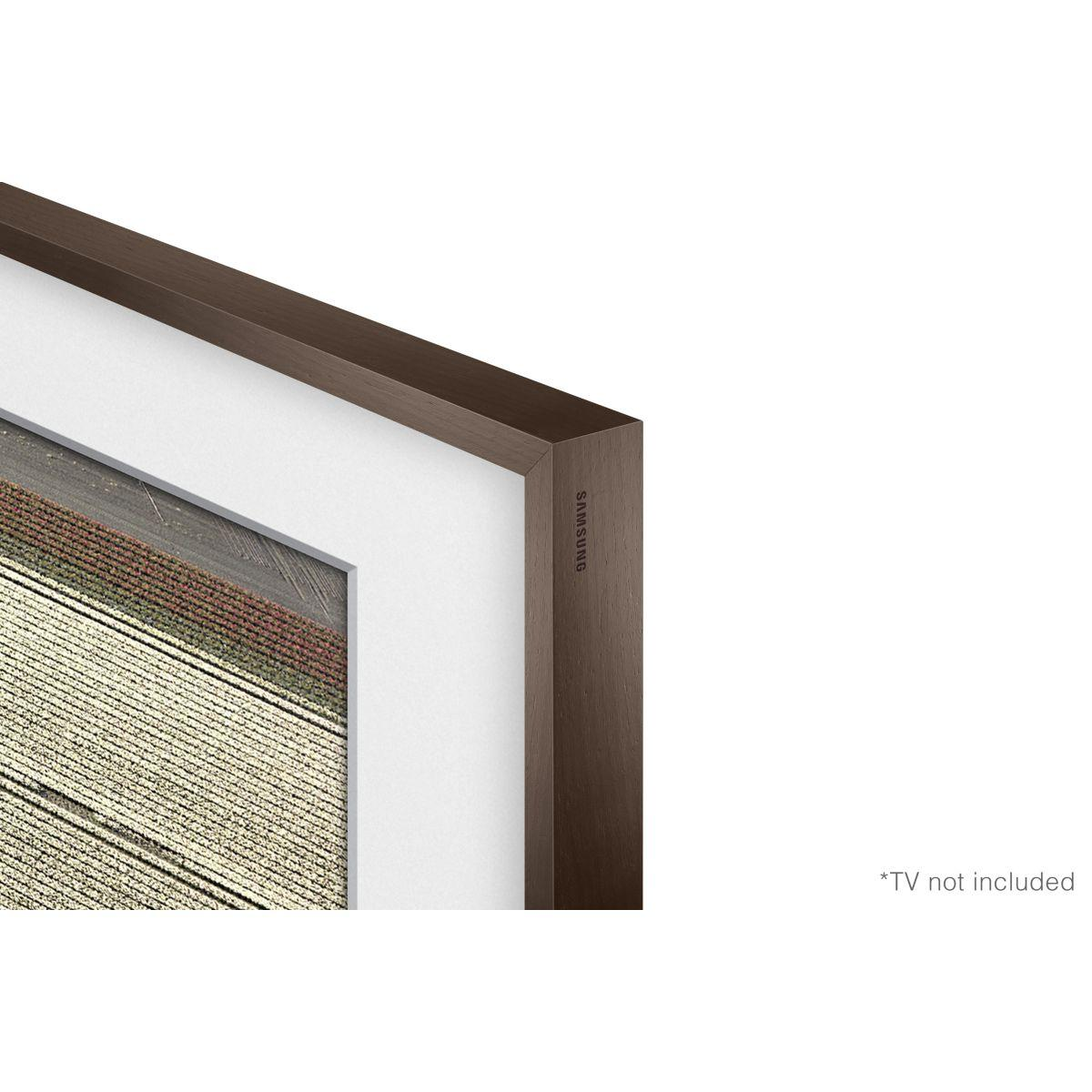 Cadre the frame samsung cadre vg-scfm55dw the frame dark wood - 10% de remise imm�diate
