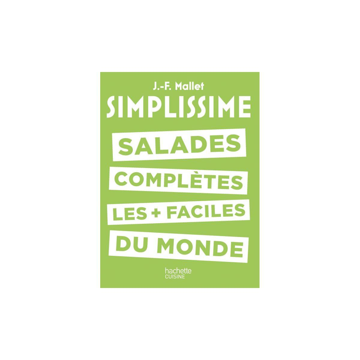 Livre de cuisine hachette simplissime salades compl�tes (photo)