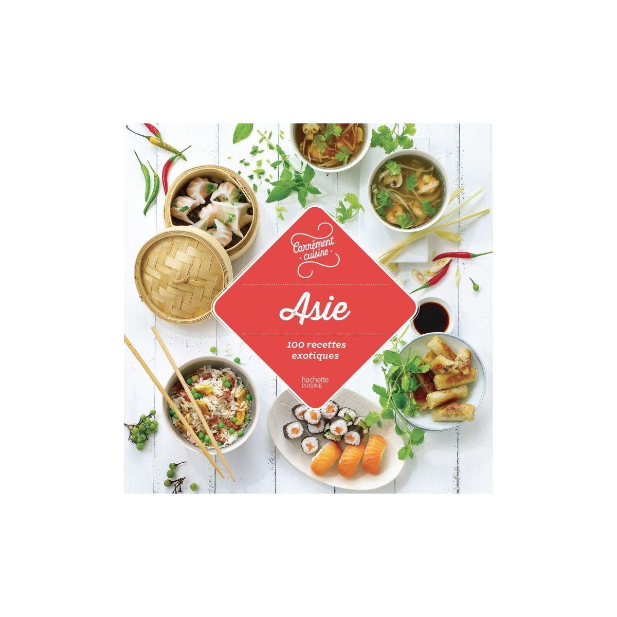 Livre hachette asie 100 recettes exotiqu - 15% de remise immédiate avec le code : cool15 (photo)