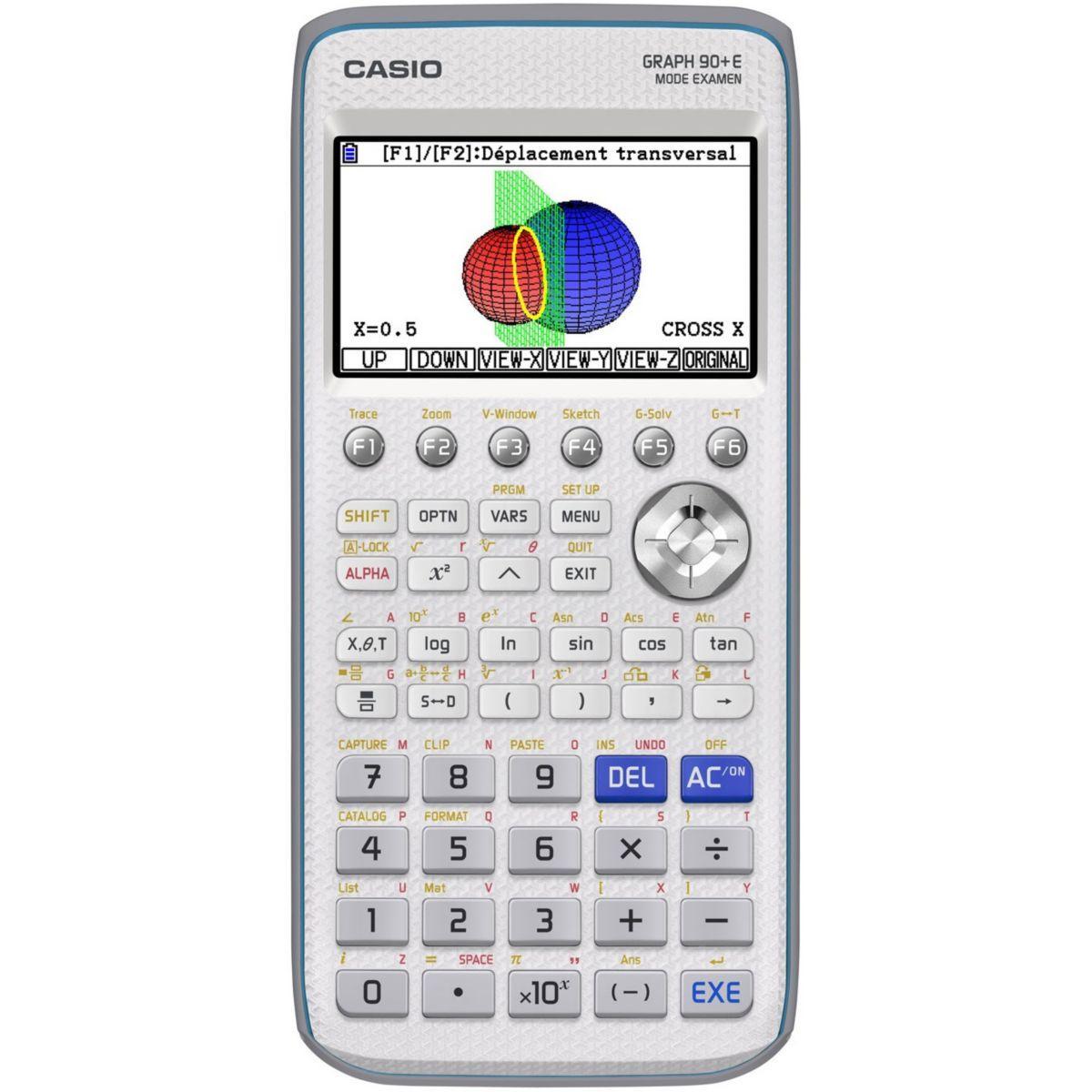Calculatrice graphique casio graph 90+e - livraison offerte : code premium (photo)
