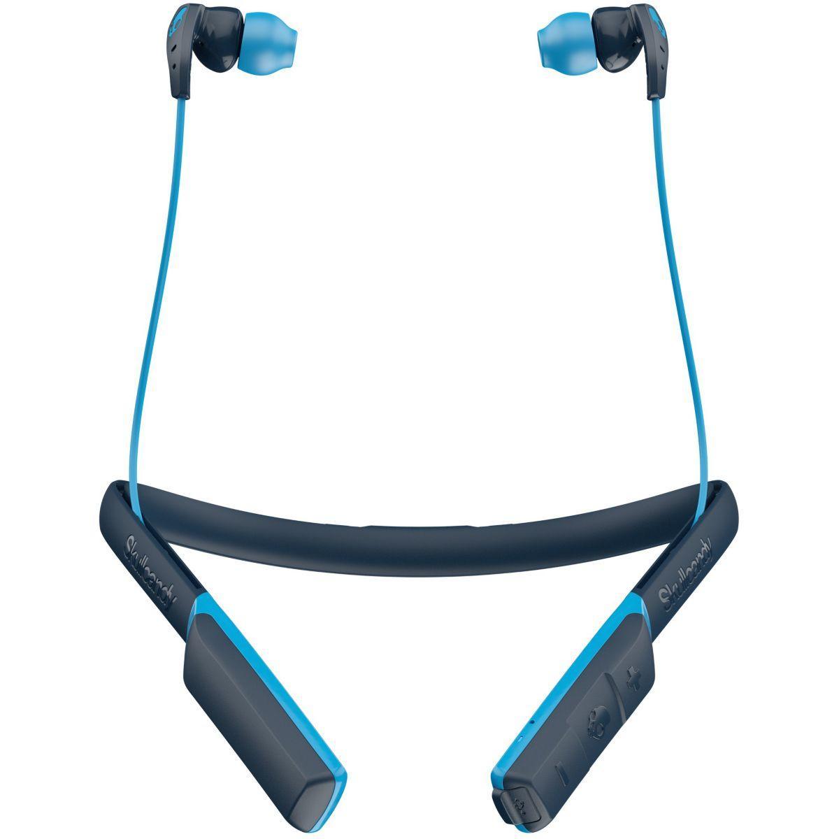 Casque sport skullcandy method wireless bleu - livraison offerte : code livprem