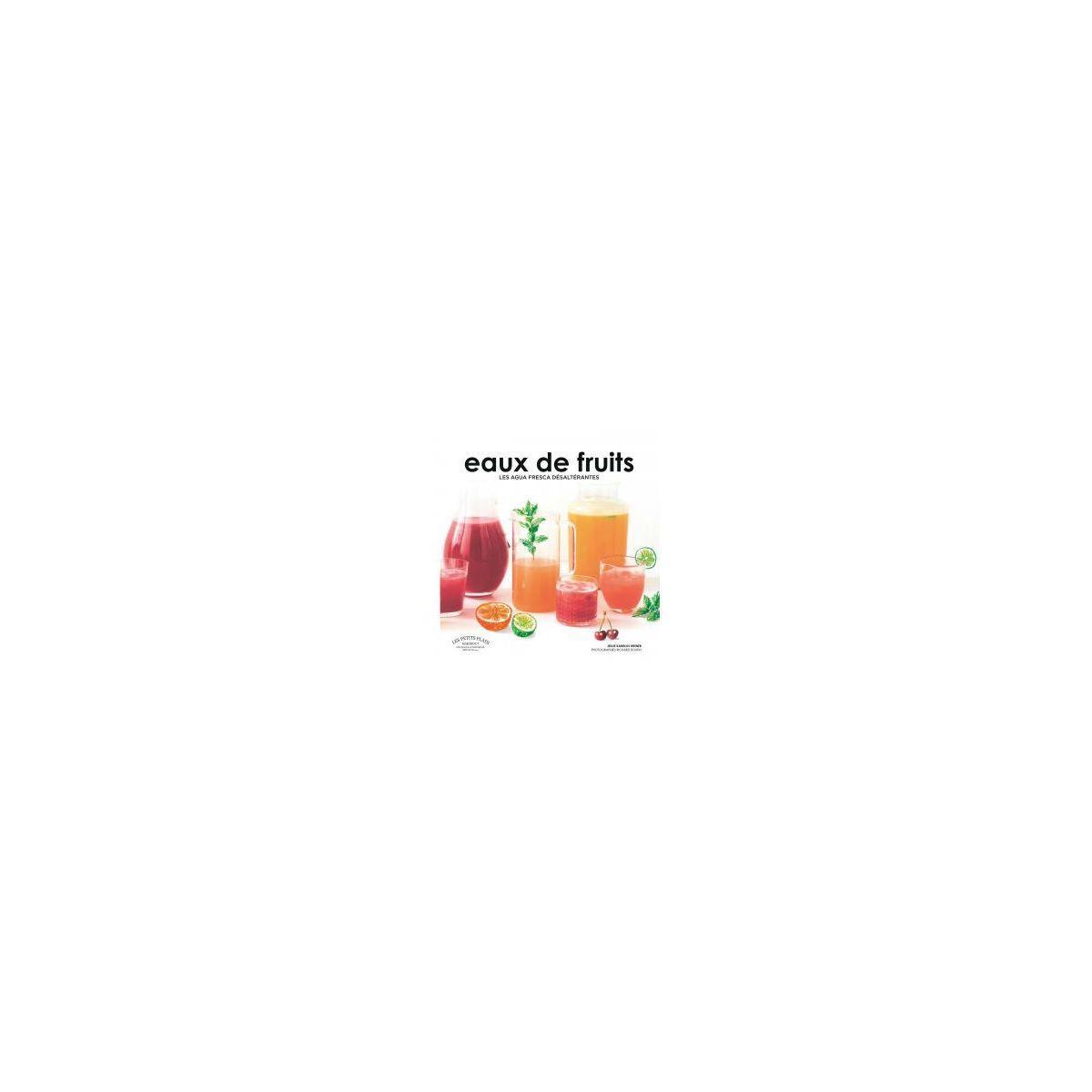 Livre de cuisine marabout eaux de fruits (photo)