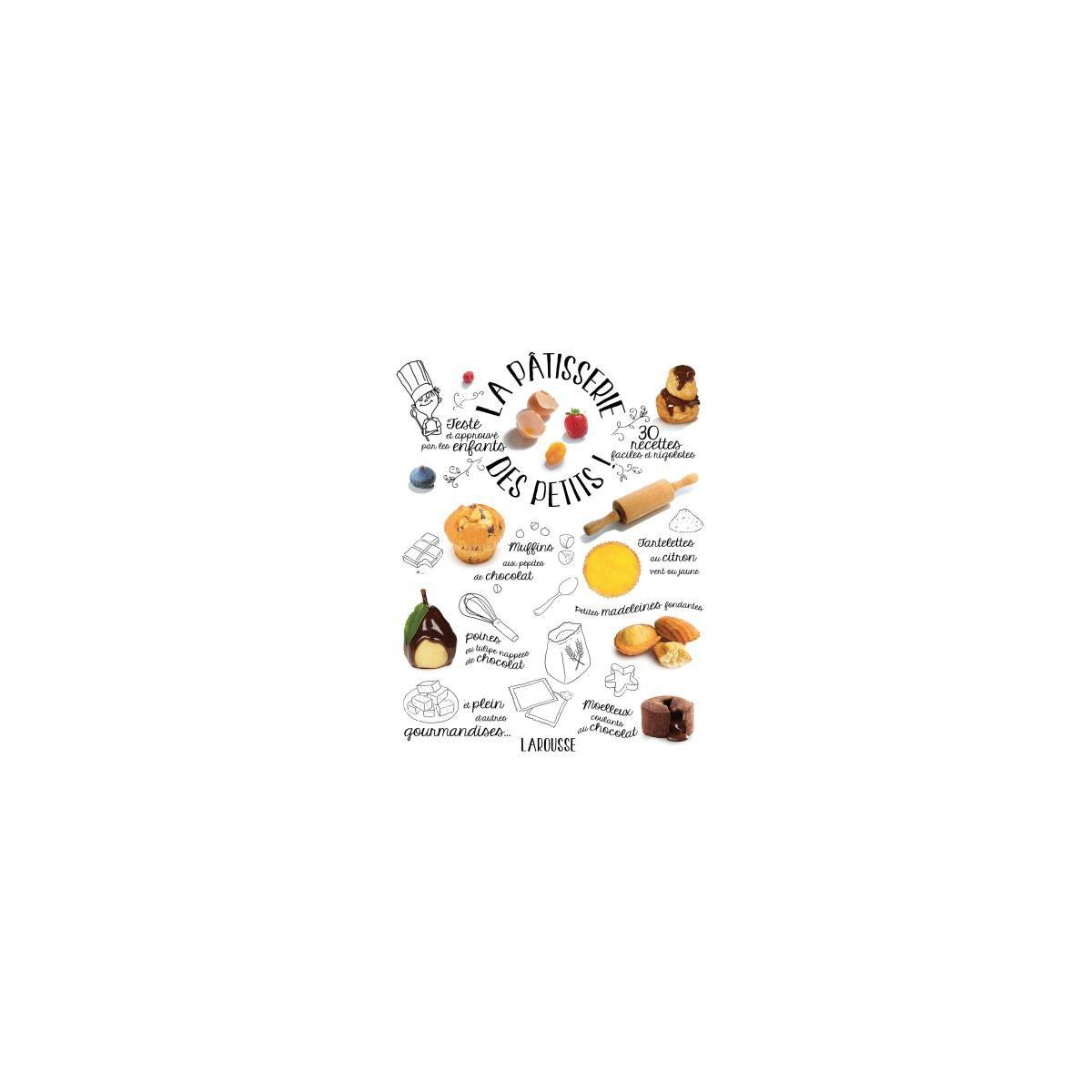 Livre larousse la pâtisserie des petits - 15% de remise immédiate avec le code : cool15 (photo)