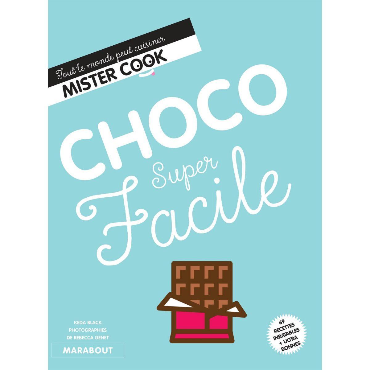 Livre marabout choco super facile - 15% de remise immédiate avec le code : cool15 (photo)