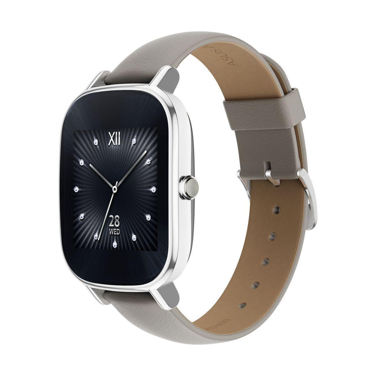 Montre asus zenwatch 2 beige cuir - 5% de remise immédiate avec le code : cool5 (photo)