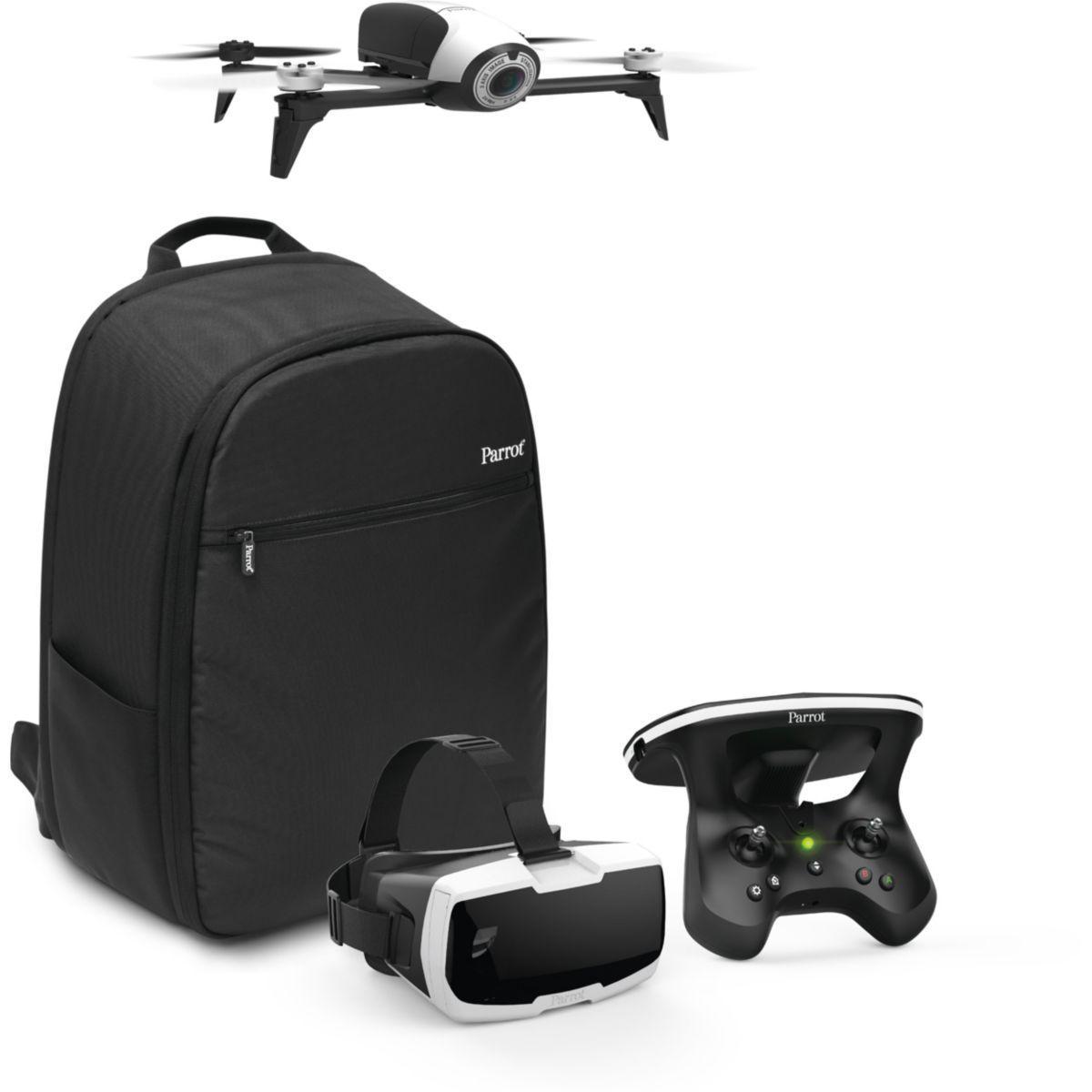 Drones parrot pack bebop 2 adventurer - livraison offerte : code livpremium (photo)