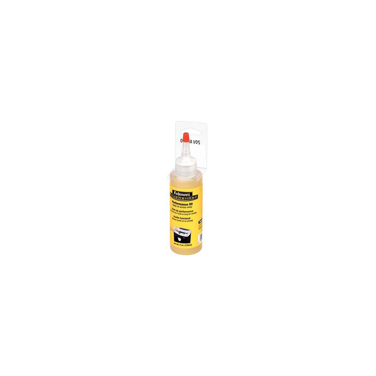 Huile lubrifiante fellowes huile lubrifiante 120ml pour destructeur - 2% de remise imm�diate avec le code : automne2 (photo)