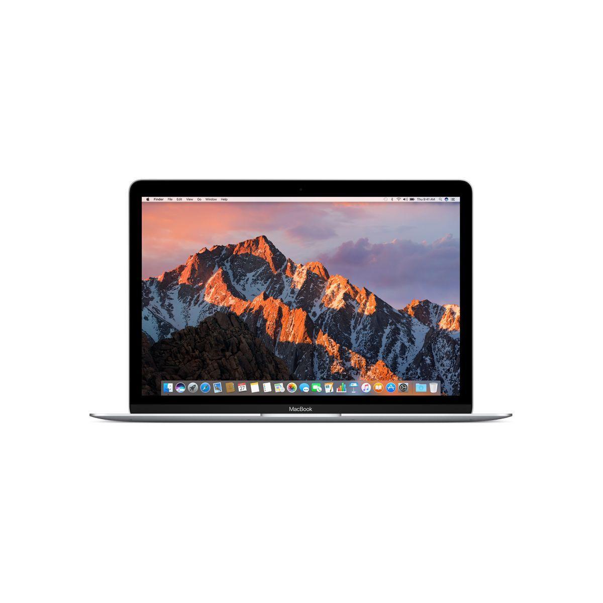 Ordinateur apple macbook 12p 256go argent m3 1.2ghz