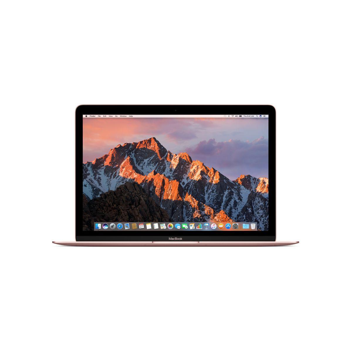 Ordinateur apple macbook 12p 512go or rose i5 1.3ghz (photo)