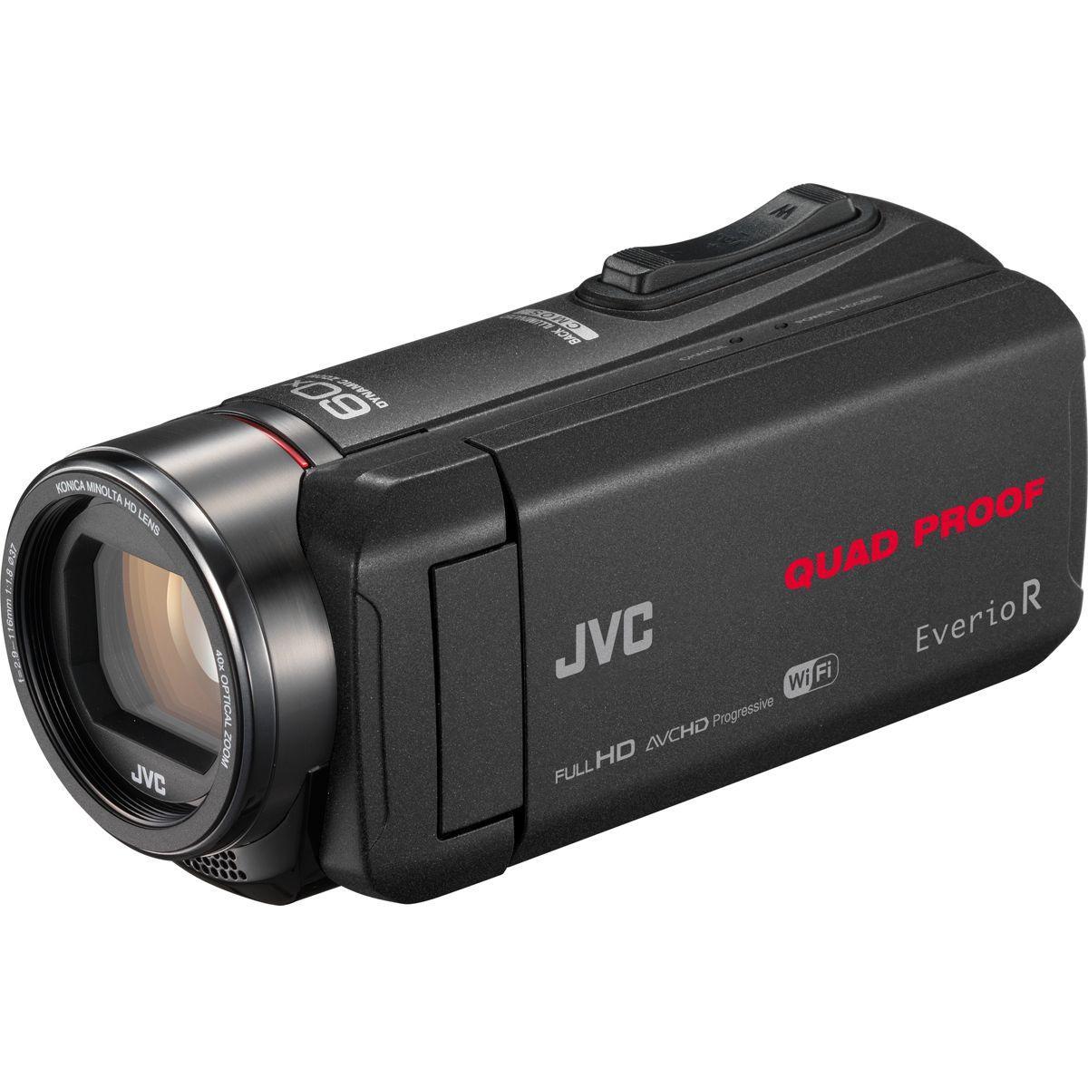 Camescope jvc gz-rx640 wifi - 5% de remise : code multi5