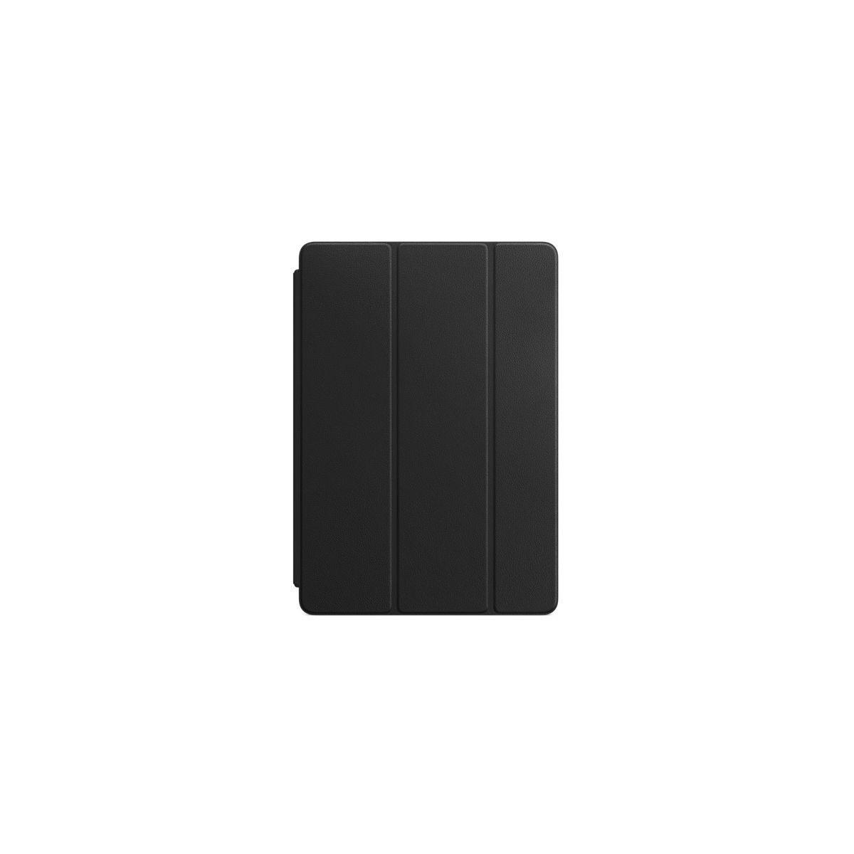 Etui tablette apple smart cover ipad pro 10.5 cuir noir - livraison offerte : code liv (photo)