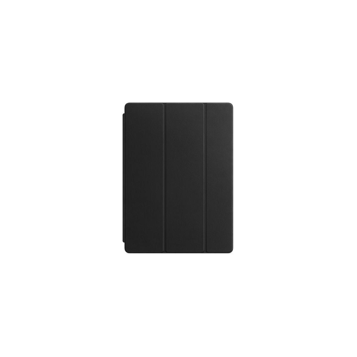 Etui tablette apple smart cover ipad pro 12.9 cuir noir - livraison offerte : code liv (photo)