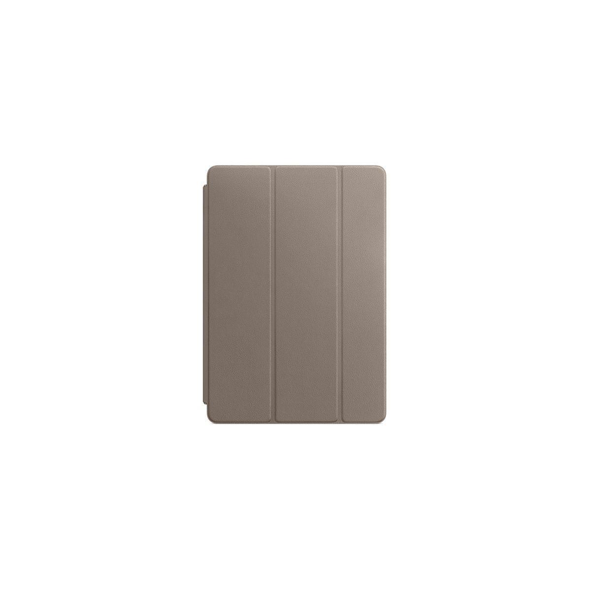 Etui tablette apple smart cover ipad pro 10.5 cuir taupe - livraison offerte : code livprem (photo)
