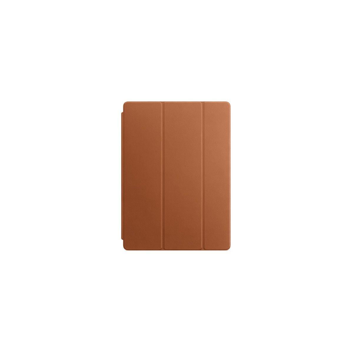 Etui tablette apple smart cover ipad pro 12.9 cuir havane - livraison offerte : code livrelais (photo)