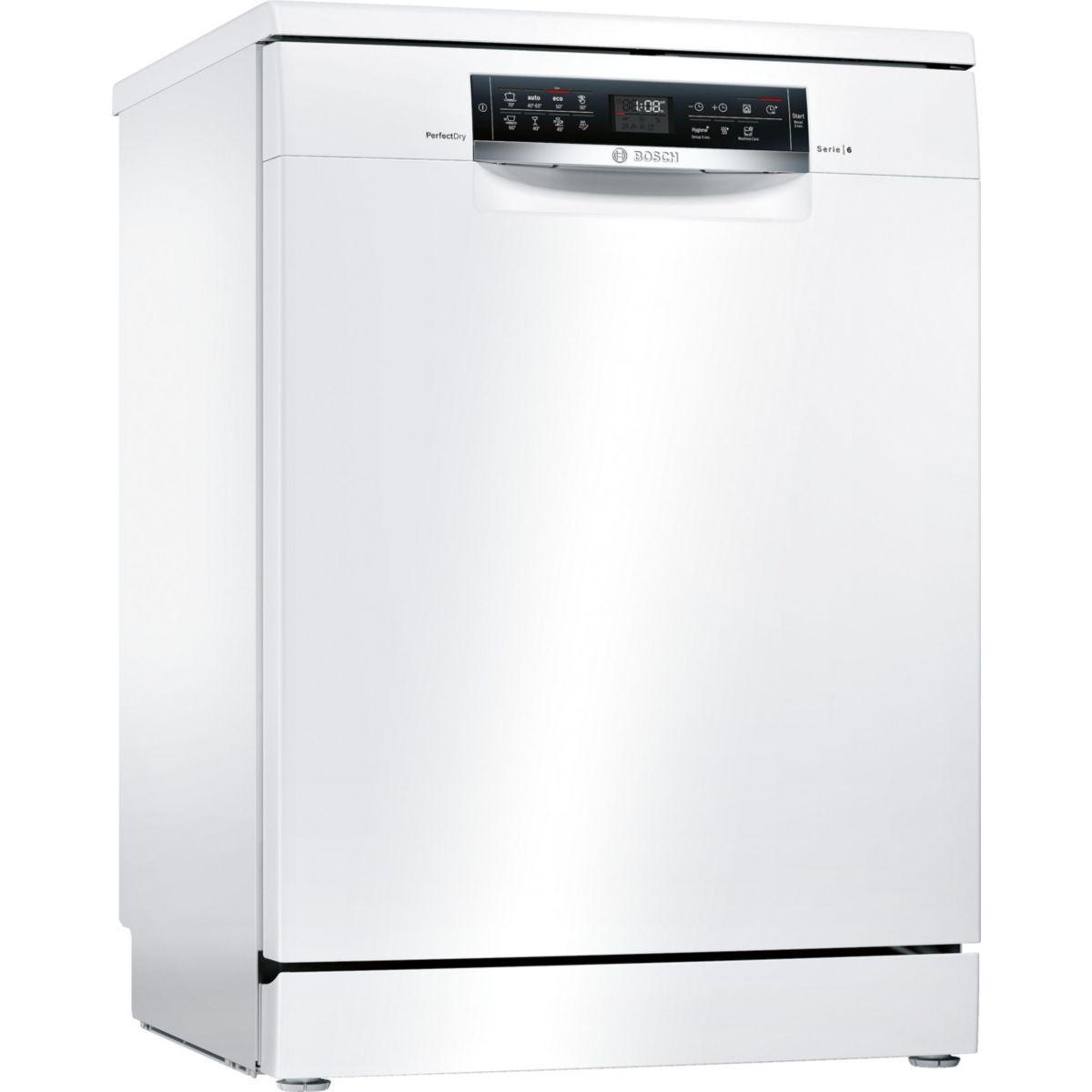 Lave vaisselle 60 cm bosch sms68mw05e - livraison offerte : code livp