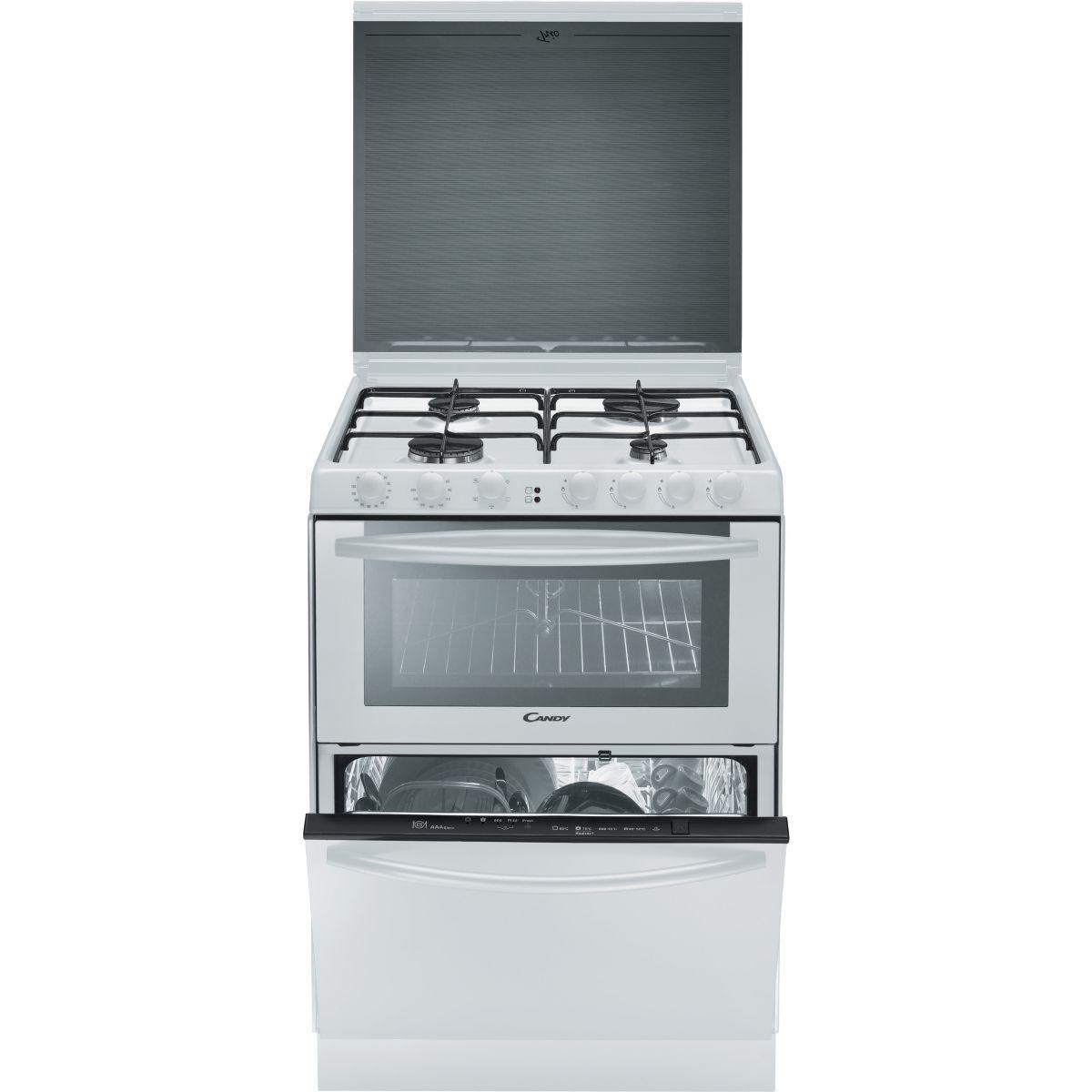 Lave vaisselle cuisson candy trio 9501w (blanc) - livraison of...