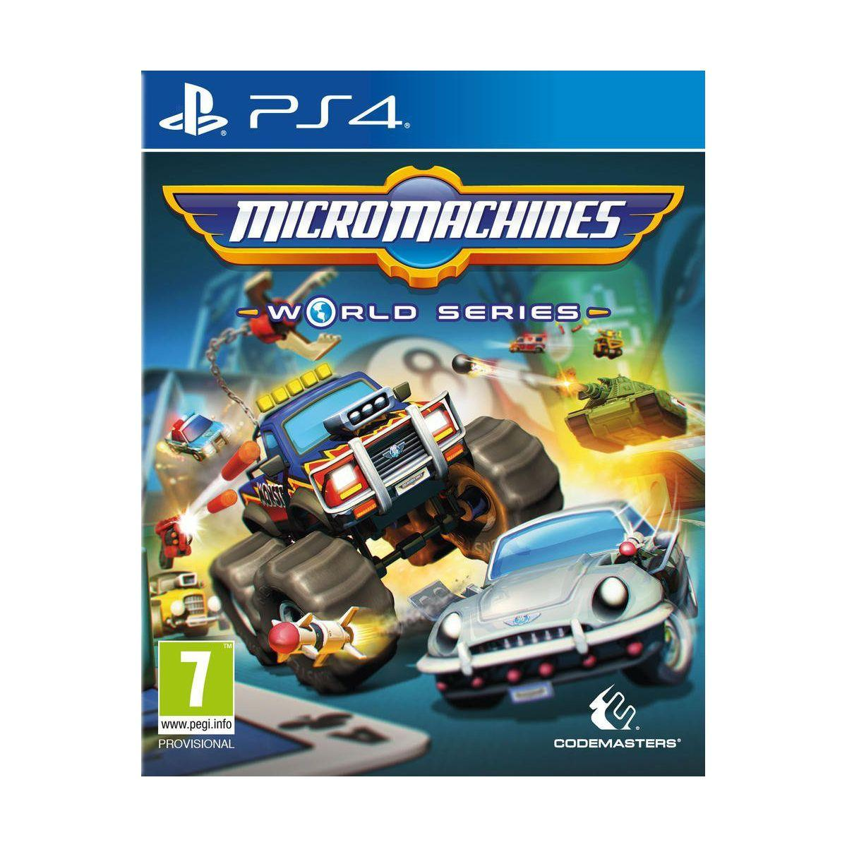 Jeu ps4 koch media micro machines world - 2% de remise immédiate avec le code : cool2 (photo)