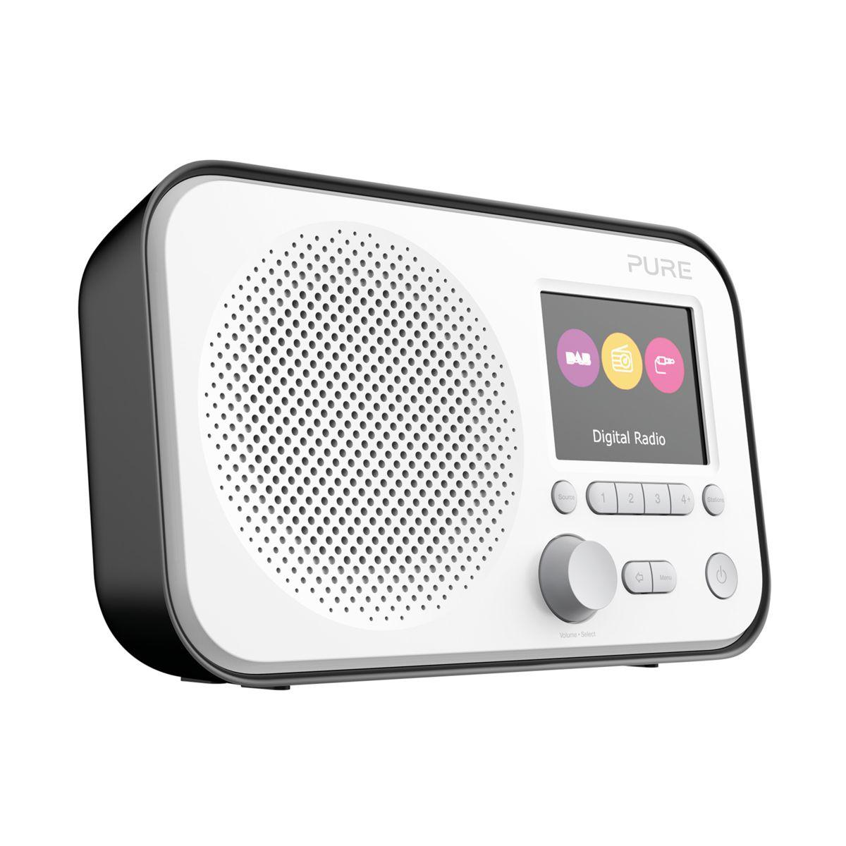 Radio num�rique pure elan e3 noir - livraison offerte : code premium