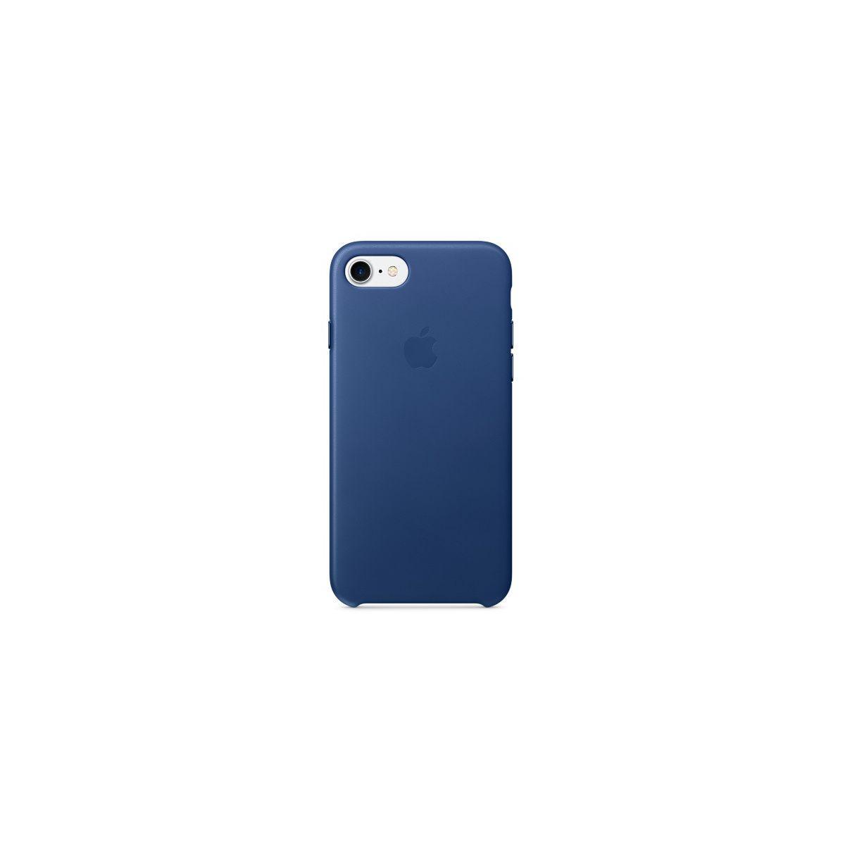Coque apple iphone 7 cuir saphir (photo)