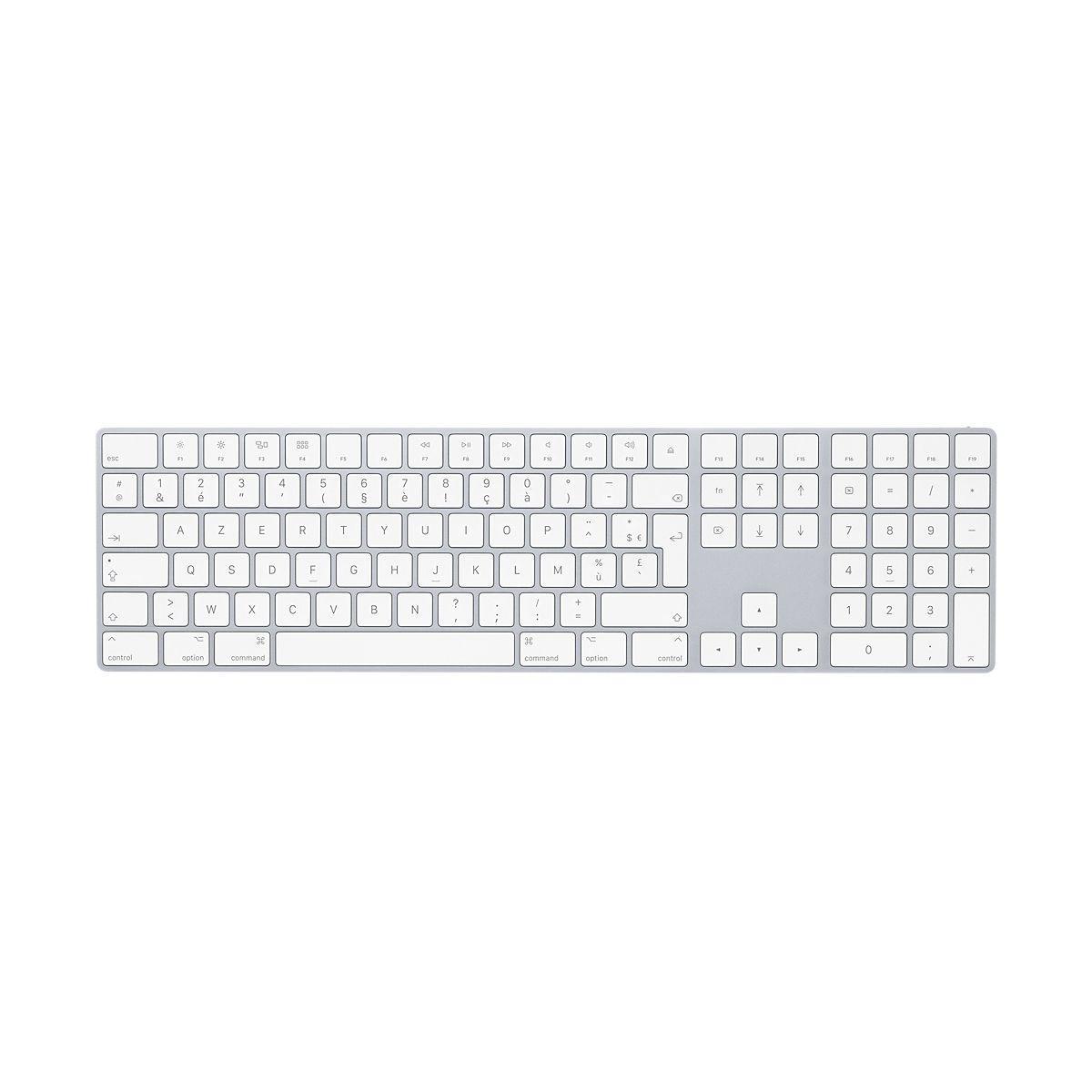 Clavier sans fil apple magic keyboard 2017 avec pad num?rique ...