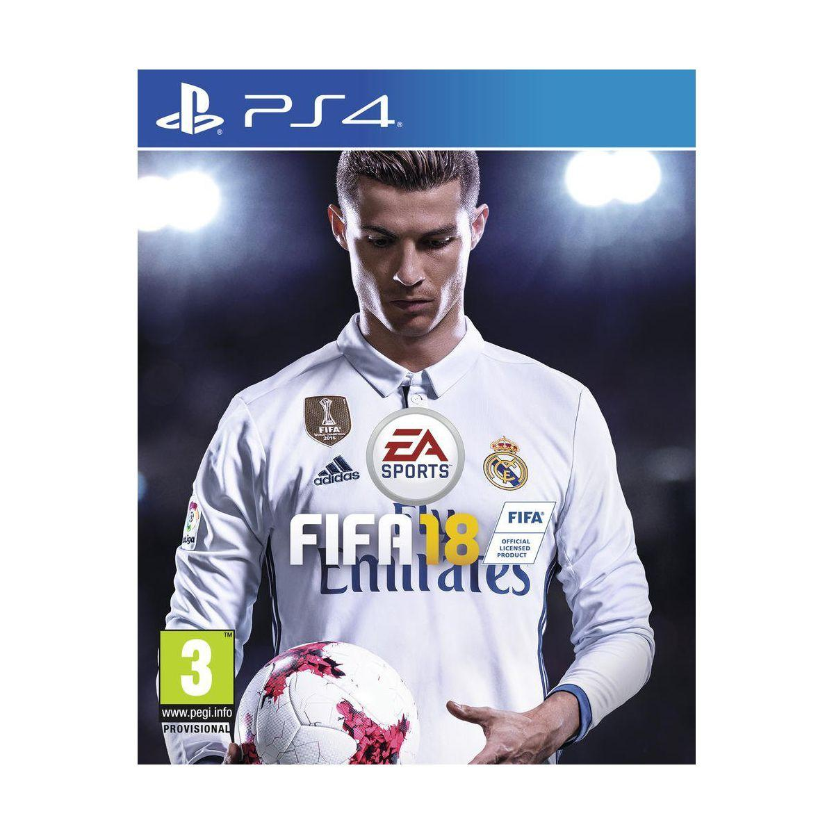 Jeu ps4 electronic arts fifa 18 (photo)