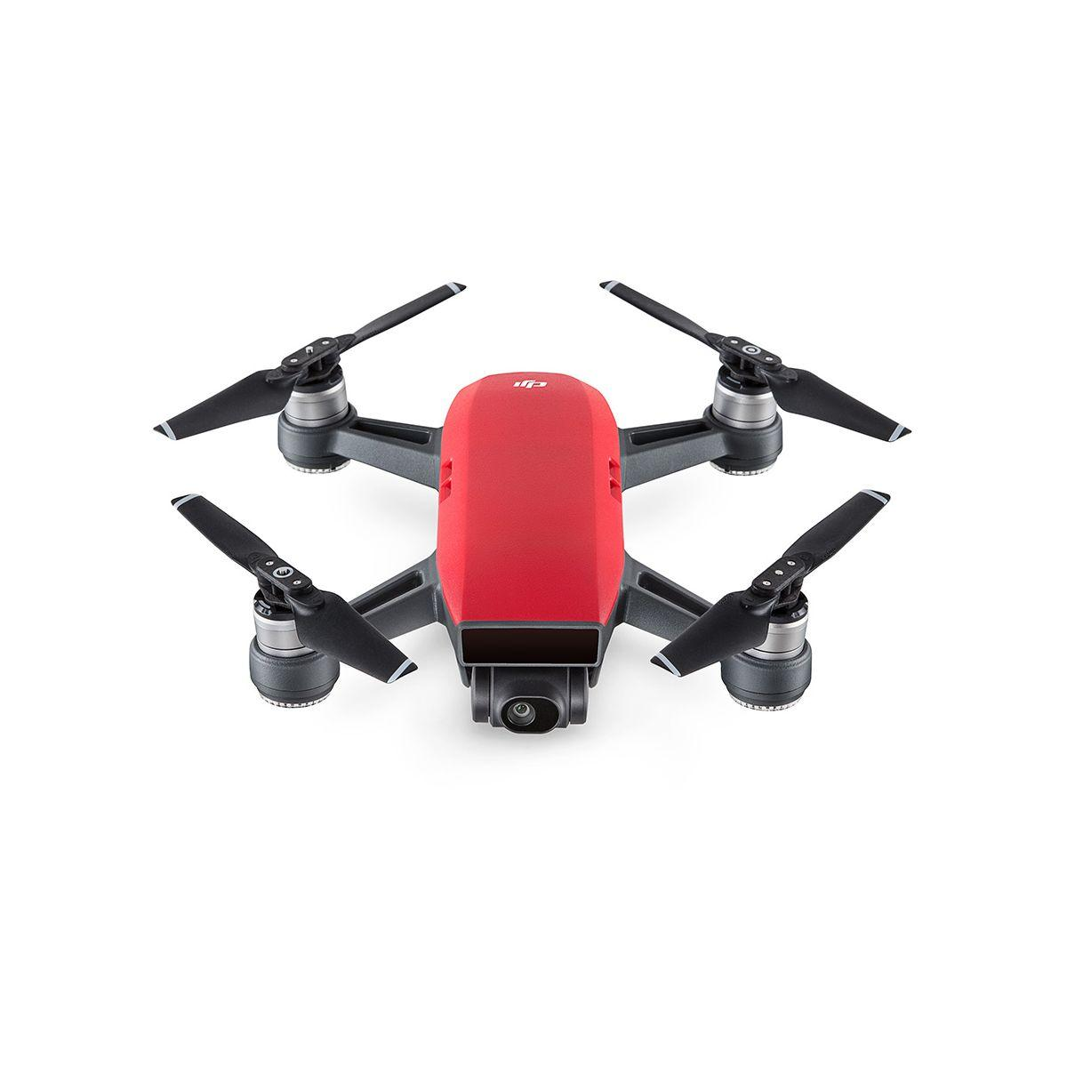 Drone dji spark fly more combo rouge - 10% de remise imm�diate avec le code : fete10 (photo)