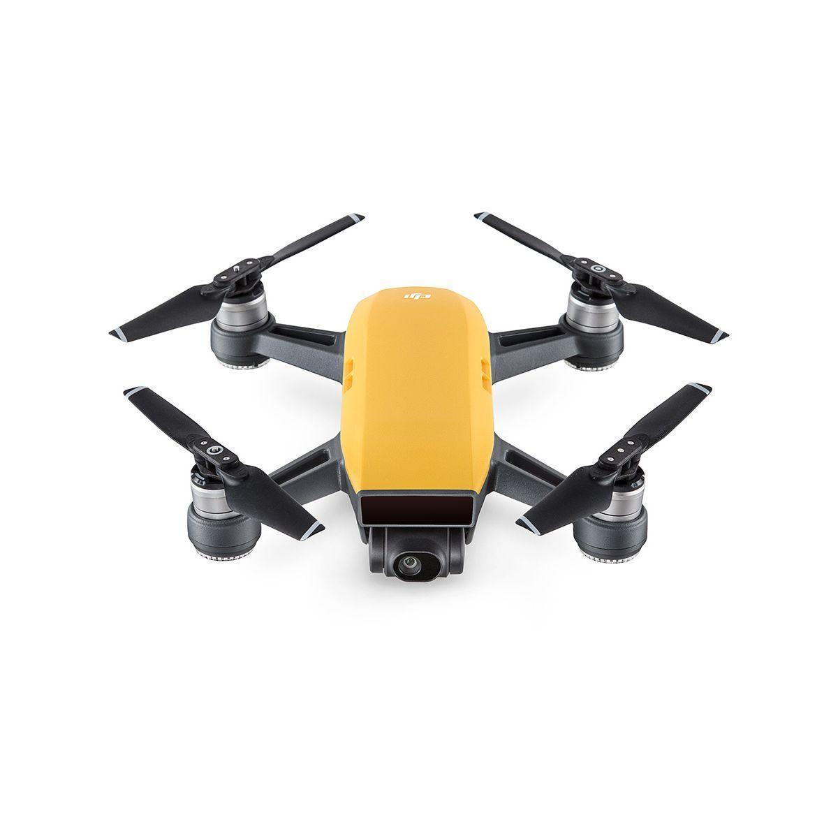 Drones dji spark fly more combo jaune - 10% de remise imm�diate avec le code : paques10 (photo)