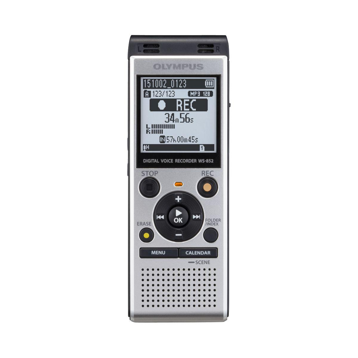 Dictaphone olympus ws-852 + microphone me-51