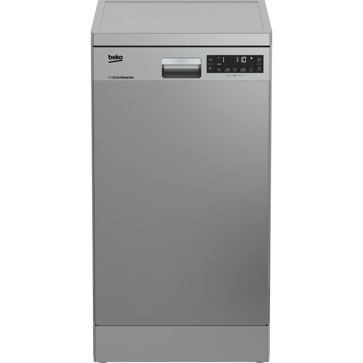 Lave vaisselle 45 cm beko dfs28020x - livraison offerte : code premium (photo)